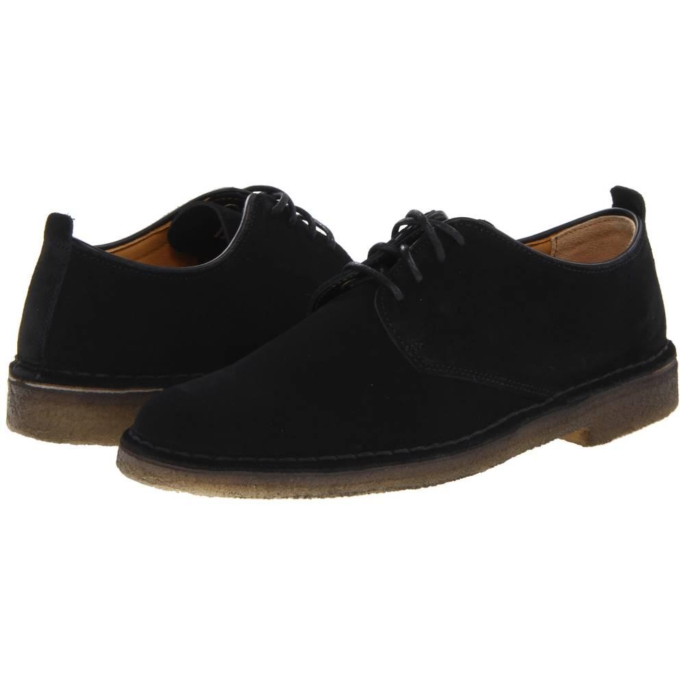 クラークス メンズ シューズ・靴 革靴・ビジネスシューズ【Desert London】Black Suede