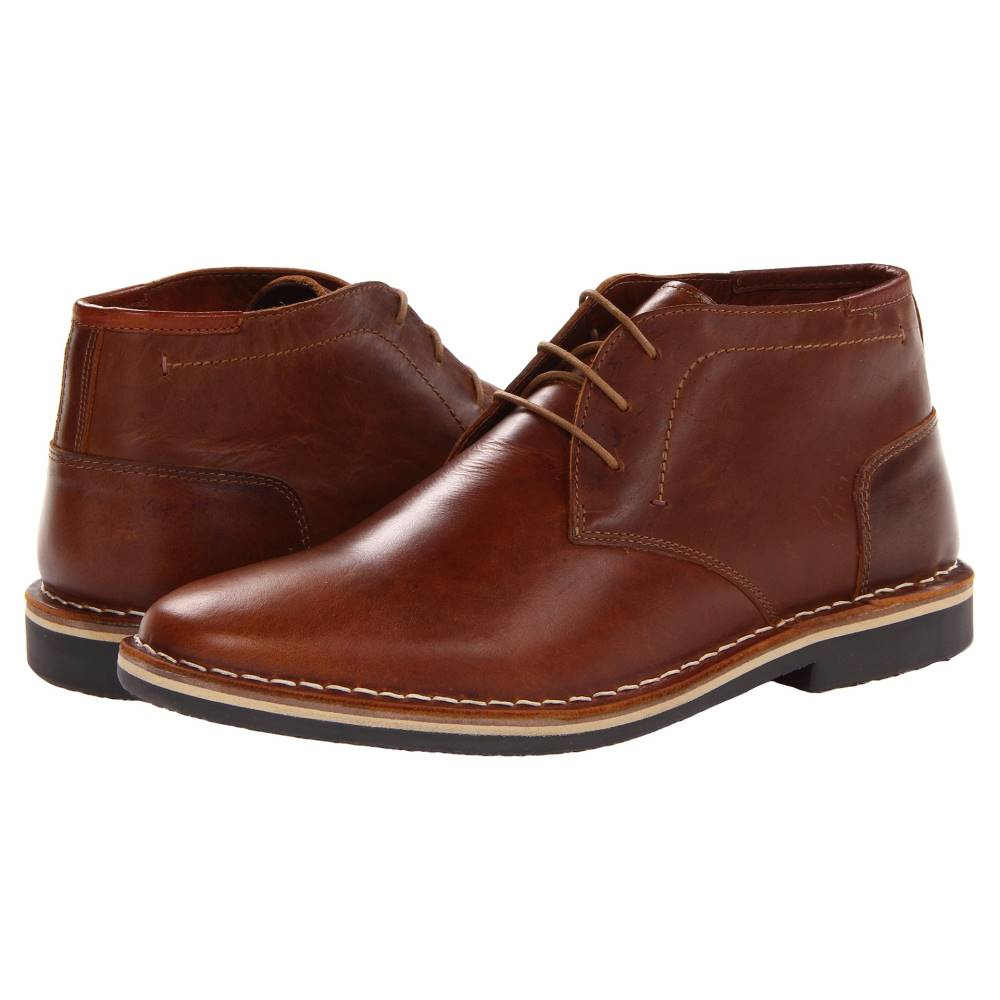 スティーブ マデン メンズ シューズ・靴 ブーツ【Harken】Cognac Leather
