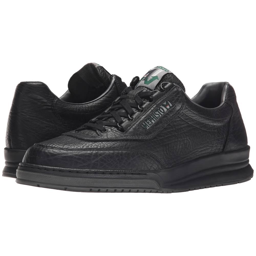 メフィスト メンズ シューズ・靴 スニーカー【Match】Black Full Grain Leather