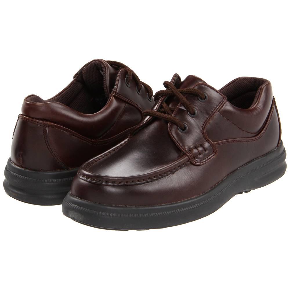 ハッシュパピー メンズ シューズ・靴 革靴・ビジネスシューズ【Gus】Dark Brown Leather