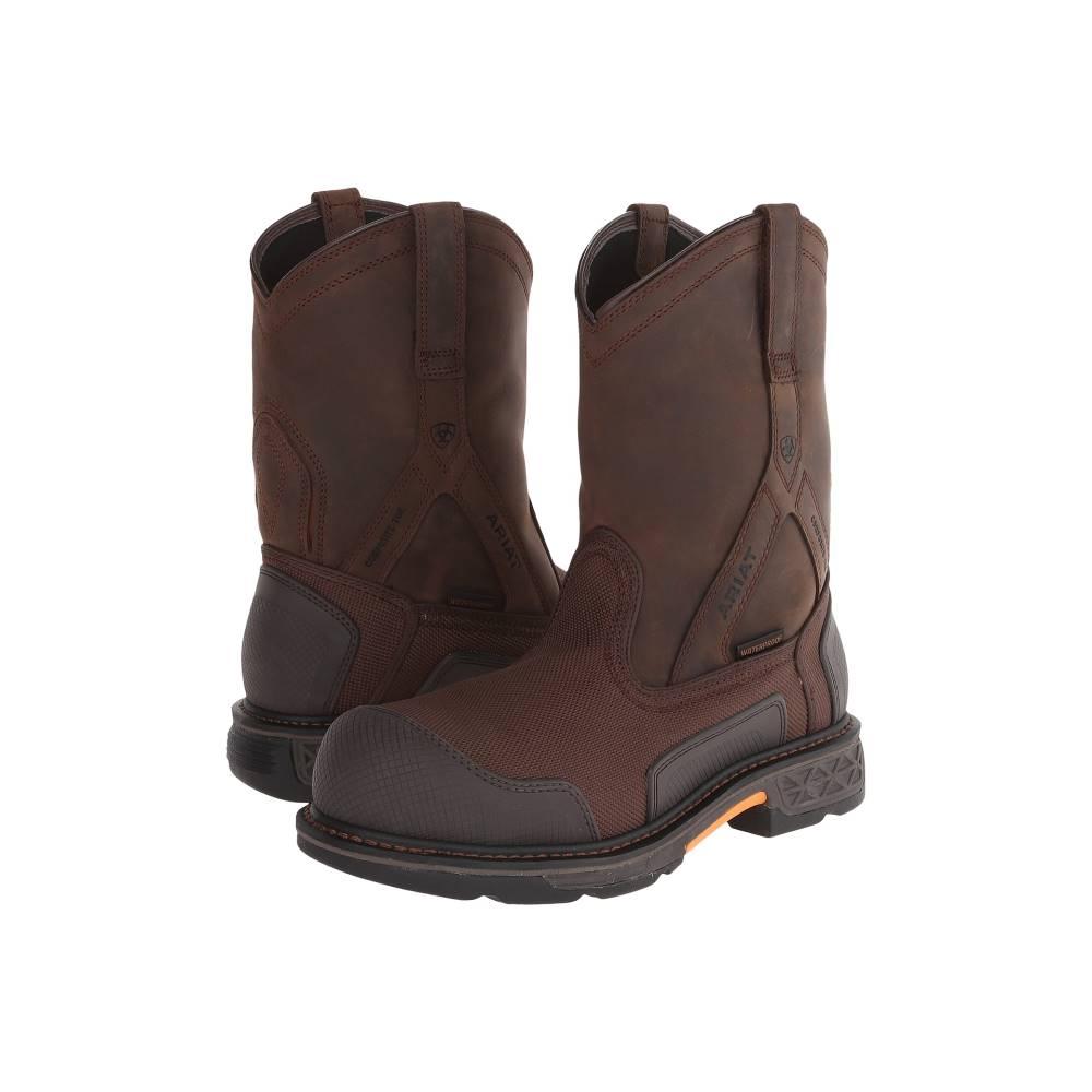 アリアト メンズ シューズ・靴 ブーツ【Overdrive XTR Pullon H20】Brown Cordura/Oily Distressed Brown