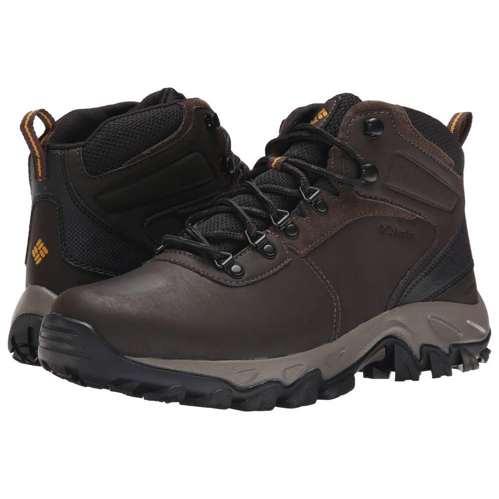 コロンビア メンズ ハイキング・登山 シューズ・靴【Newton Ridge' Plus II Waterproof】Cordovan/Squash