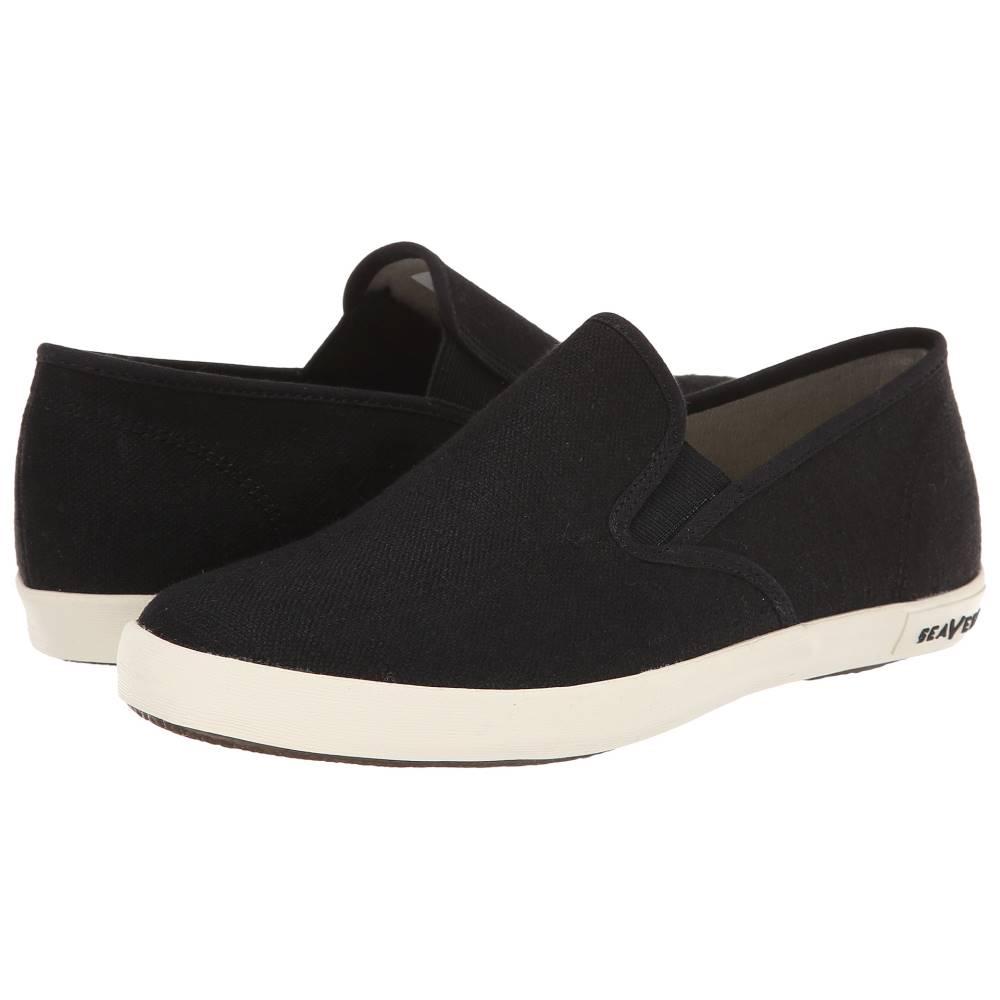 シービーズ レディース シューズ・靴 スリッポン・フラット【02/64 Baja Slip-on Standard】Black
