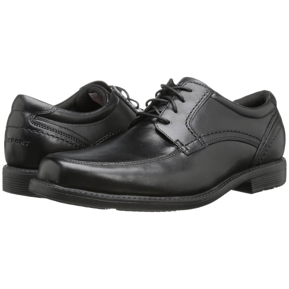 ロックポート メンズ シューズ・靴 革靴・ビジネスシューズ【Style Leader 2 Apron Toe】Black Waxed Calf