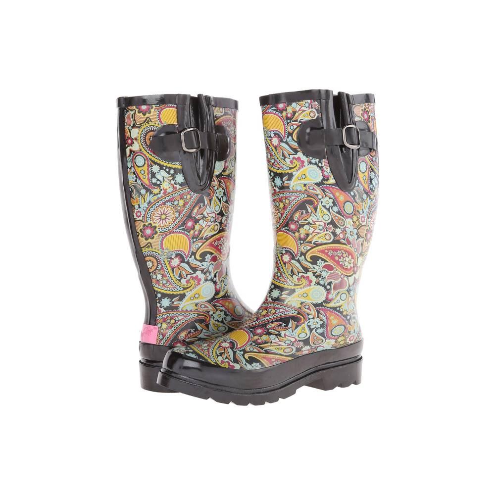 エムアンドエフ ウエスタン レディース シューズ・靴 ブーツ【Paisley】Black/Multi