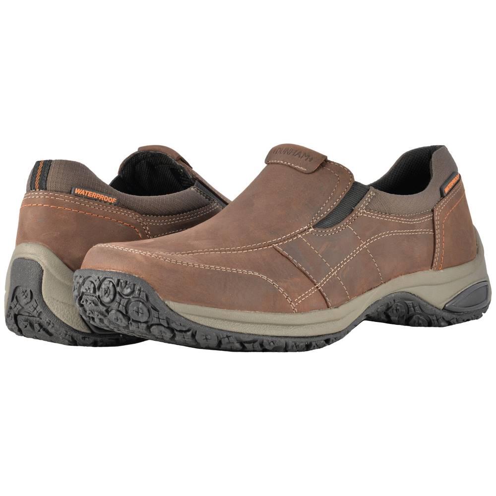 ダナム メンズ シューズ・靴 スリッポン・フラット【Litchfield Slip-On】Brown