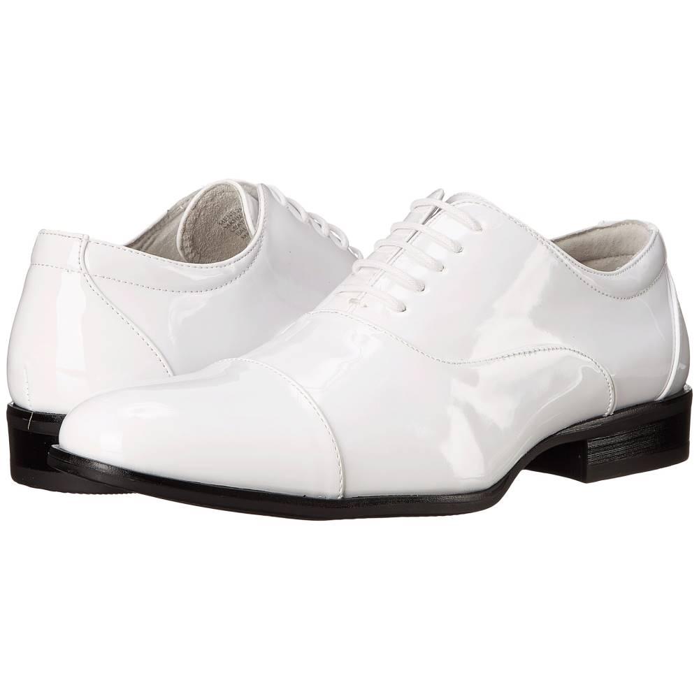 ステイシー アダムス メンズ シューズ・靴 革靴・ビジネスシューズ【Gala】White Patent