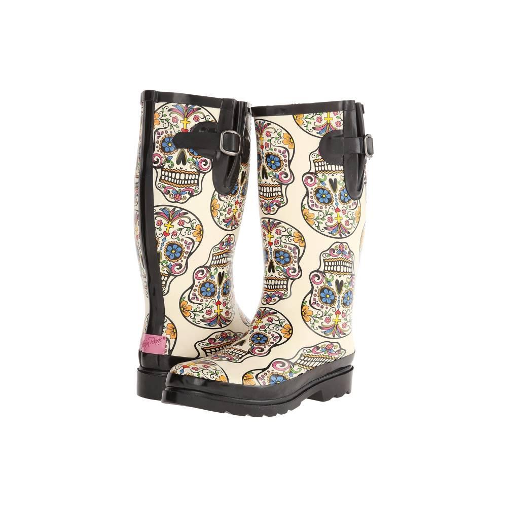 エムアンドエフ ウエスタン レディース シューズ・靴 ブーツ【Rocki】Cream