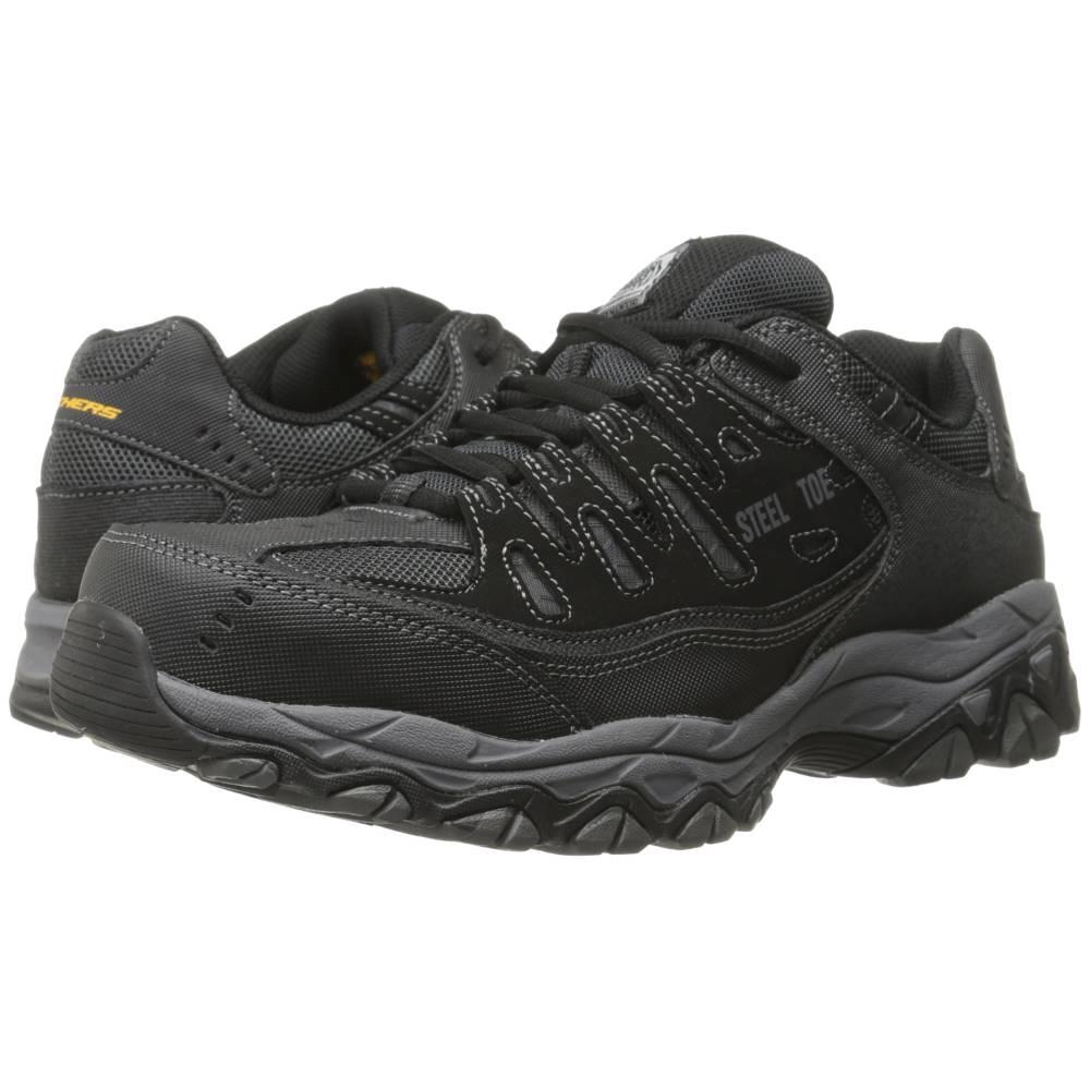 スケッチャーズ メンズ シューズ 靴 スニーカー サイズ交換無料 Charcoal Black 激安特価品 Crankton 新品