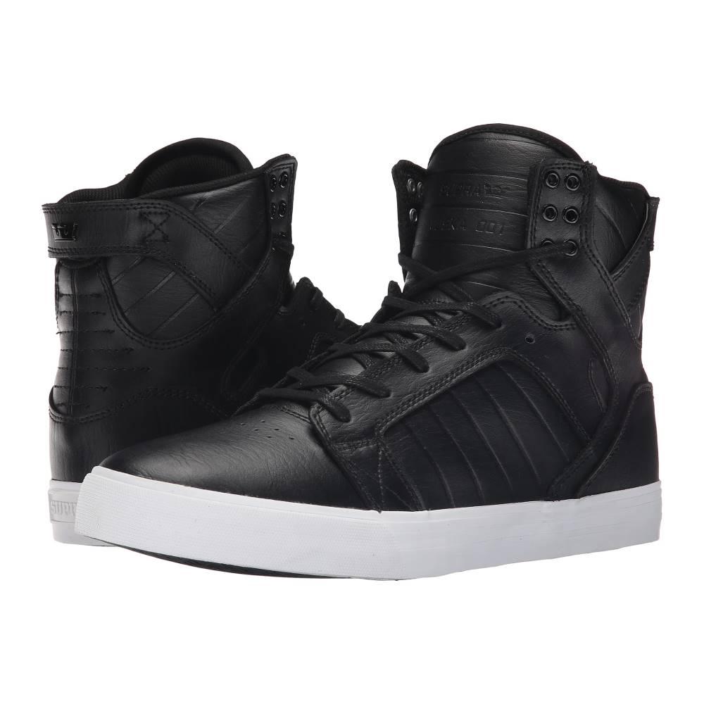 スープラ メンズ シューズ・靴 スニーカー【Skytop】Black/White