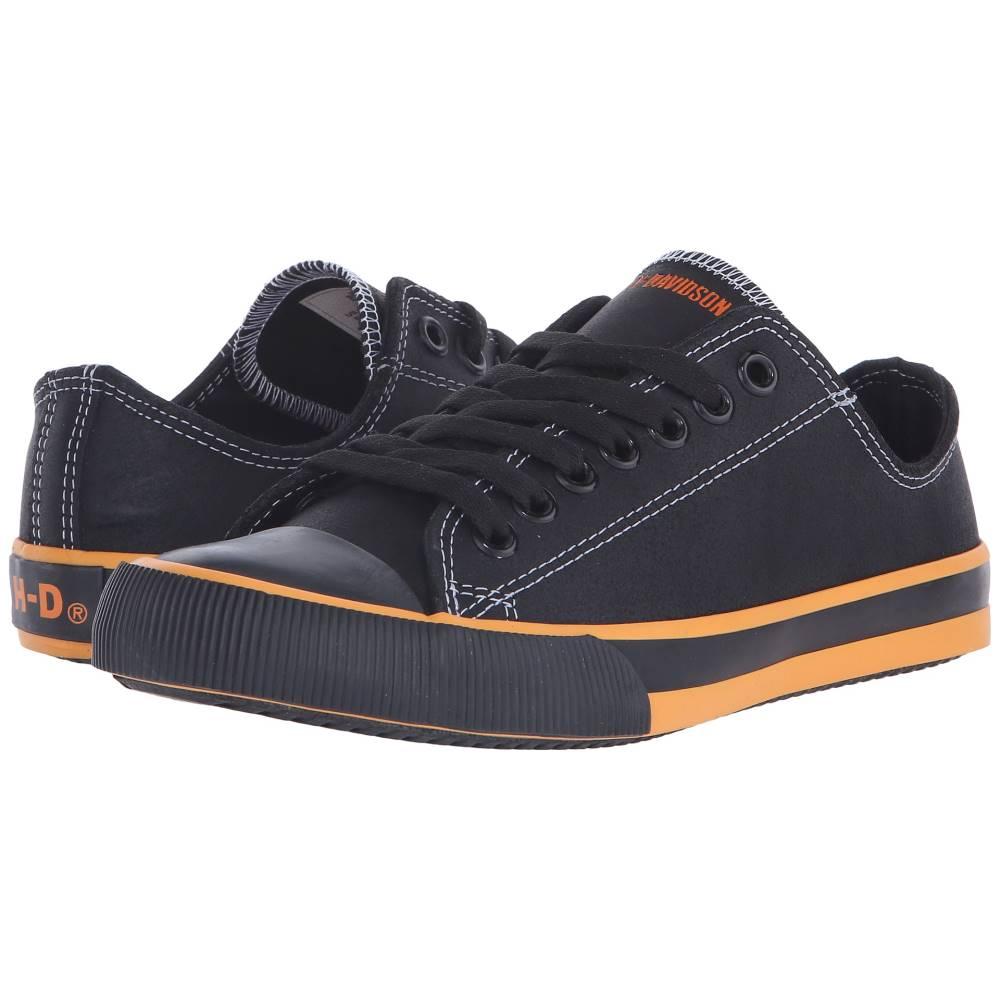 ハーレーダビッドソン レディース シューズ・靴 スニーカー【Zia】Black/Orange