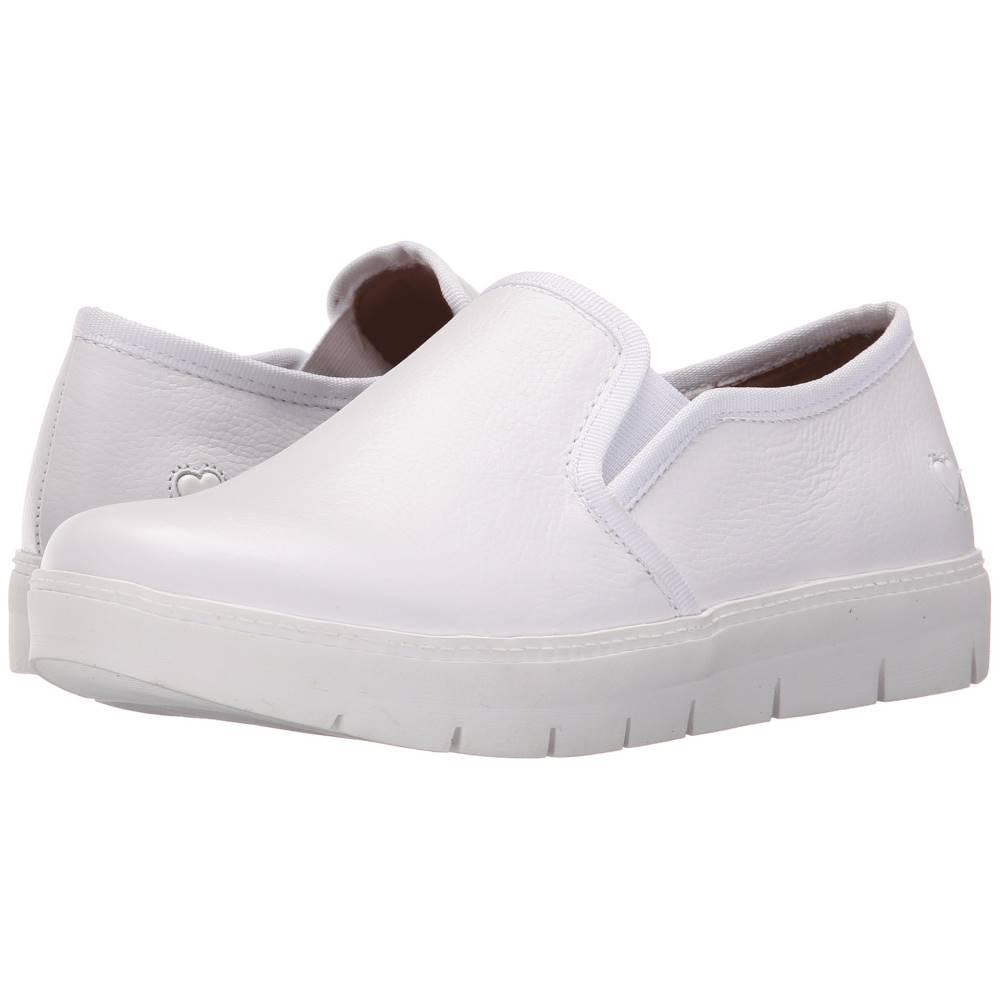 ナースメイト レディース シューズ・靴 スニーカー【Adela】White