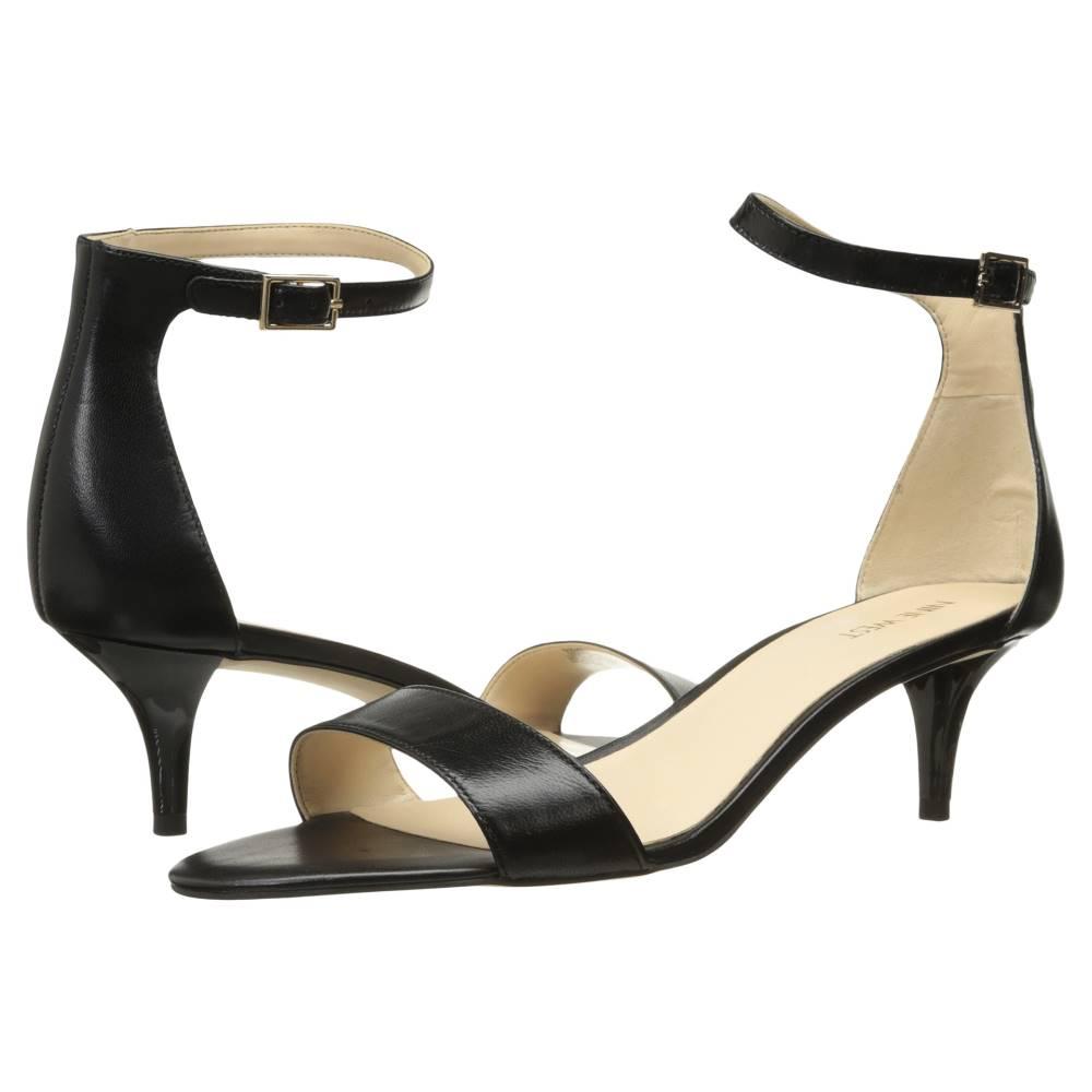 ナインウェスト レディース シューズ・靴 サンダル・ミュール【Leisa】Black Leather