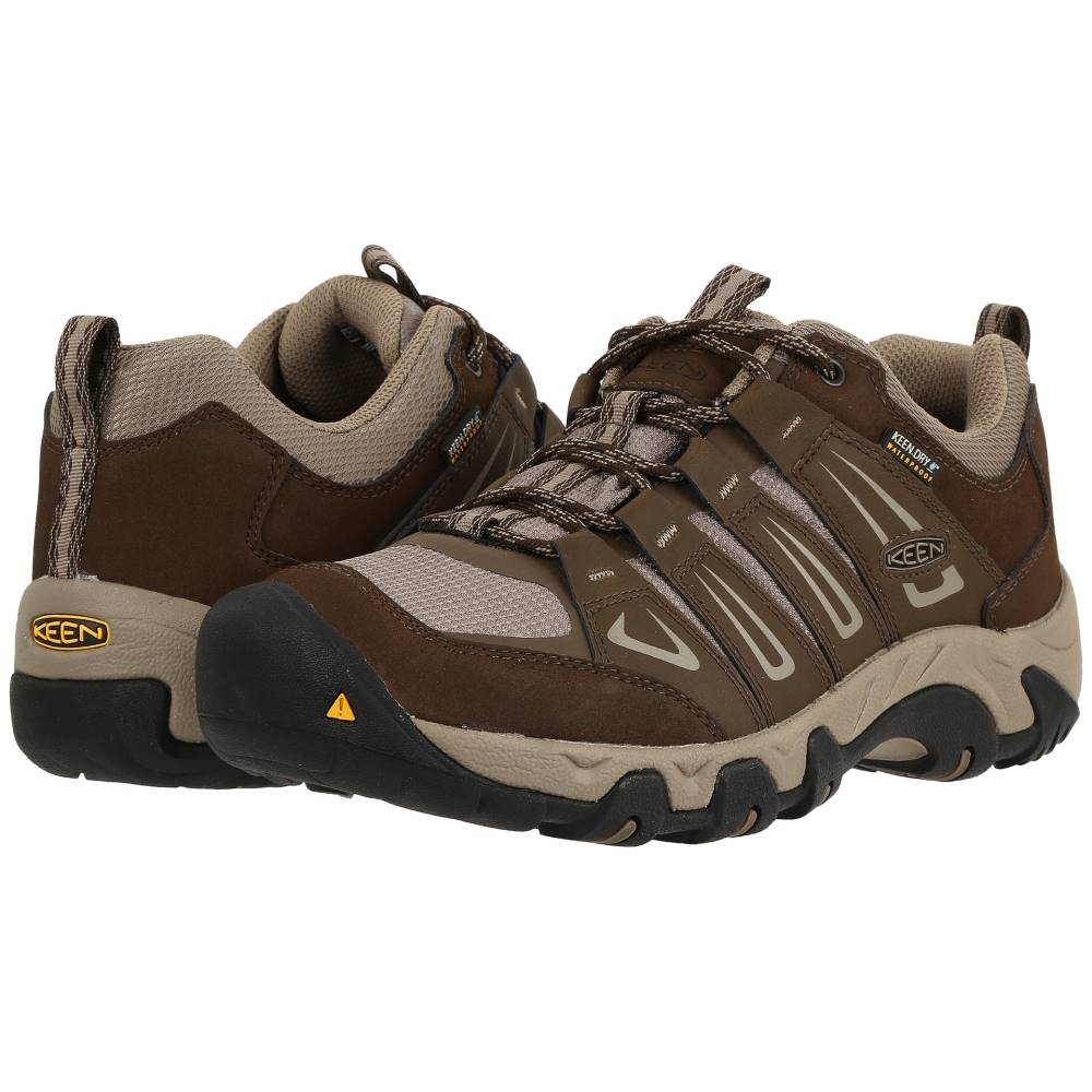キーン メンズ ハイキング・登山 シューズ・靴【Oakridge Waterproof】Cascade/Brindle