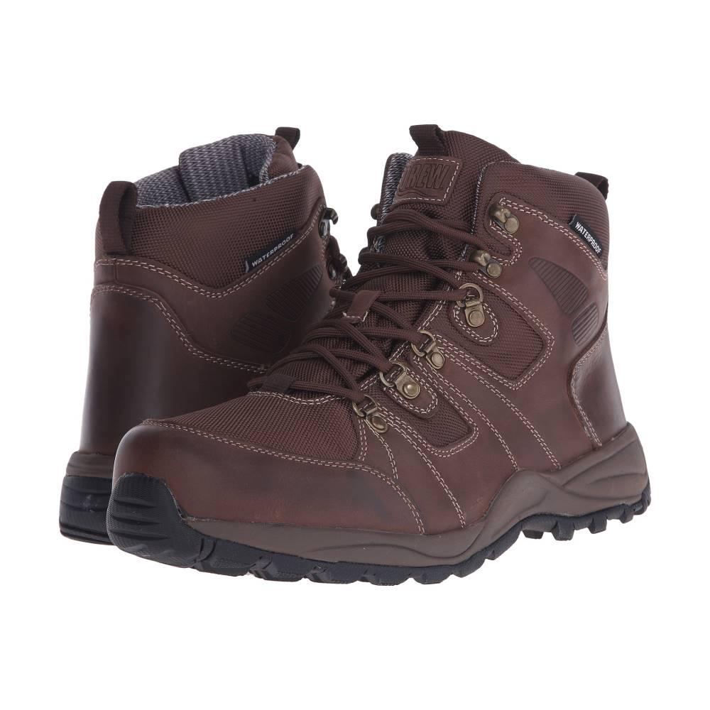 ドリュー メンズ ハイキング・登山 シューズ・靴【Trek】Dark Brown Leather
