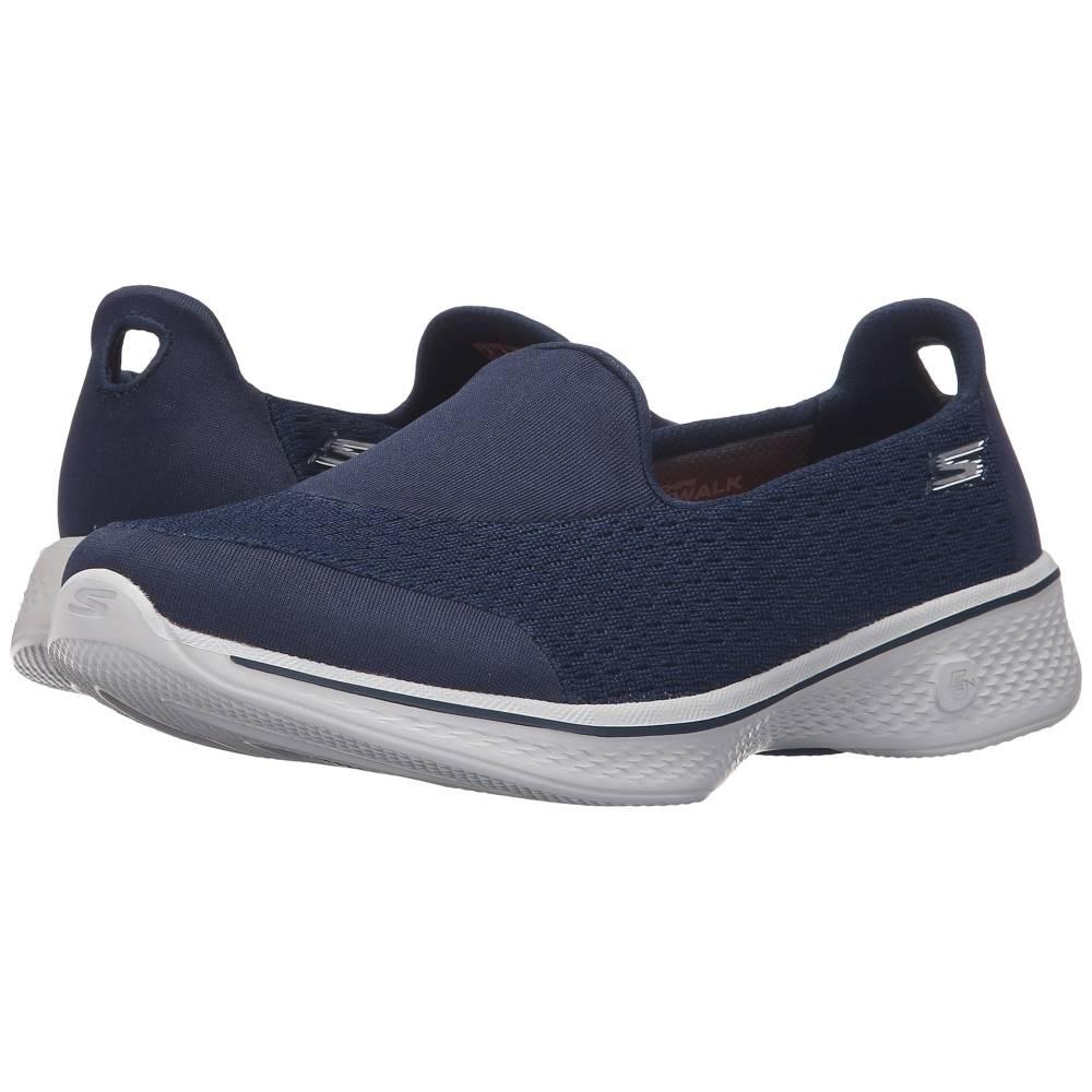 スケッチャーズ レディース シューズ・靴 スニーカー【Go Walk 4 - Pursuit】Navy/Gray