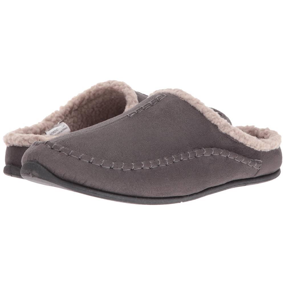 ディール スタッグス メンズ シューズ・靴 スリッパ【Nordic】Charcoal