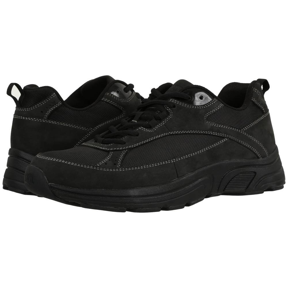 ドリュー メンズ シューズ・靴 スニーカー【Aaron】Black Leather/Nylon