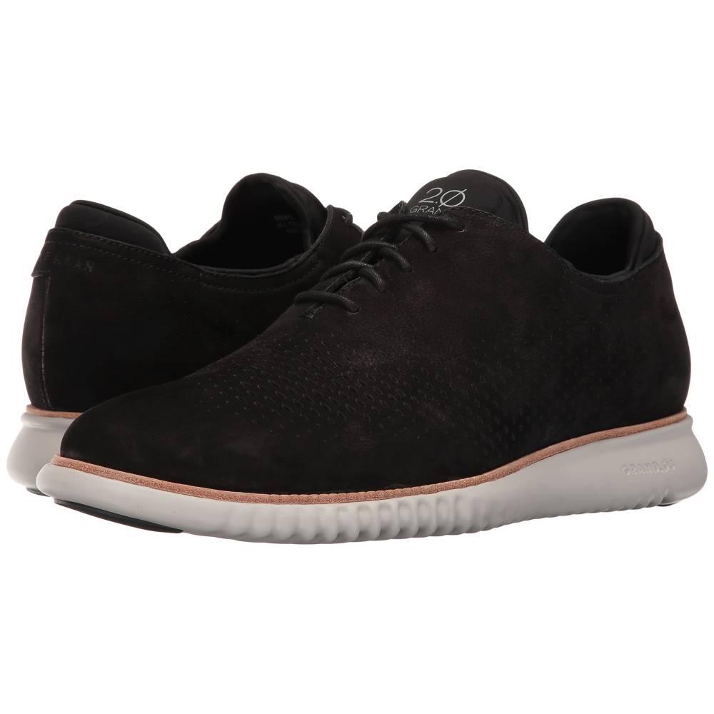 コールハーン メンズ シューズ・靴 革靴・ビジネスシューズ【2.0 Grand Laser Wing Oxford】Black Nubuck/Grey