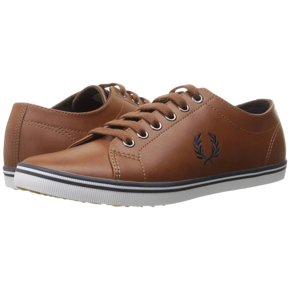 フレッドペリー メンズ シューズ・靴 スニーカー【Kingston Leather】Tan/Carbon Blue 1