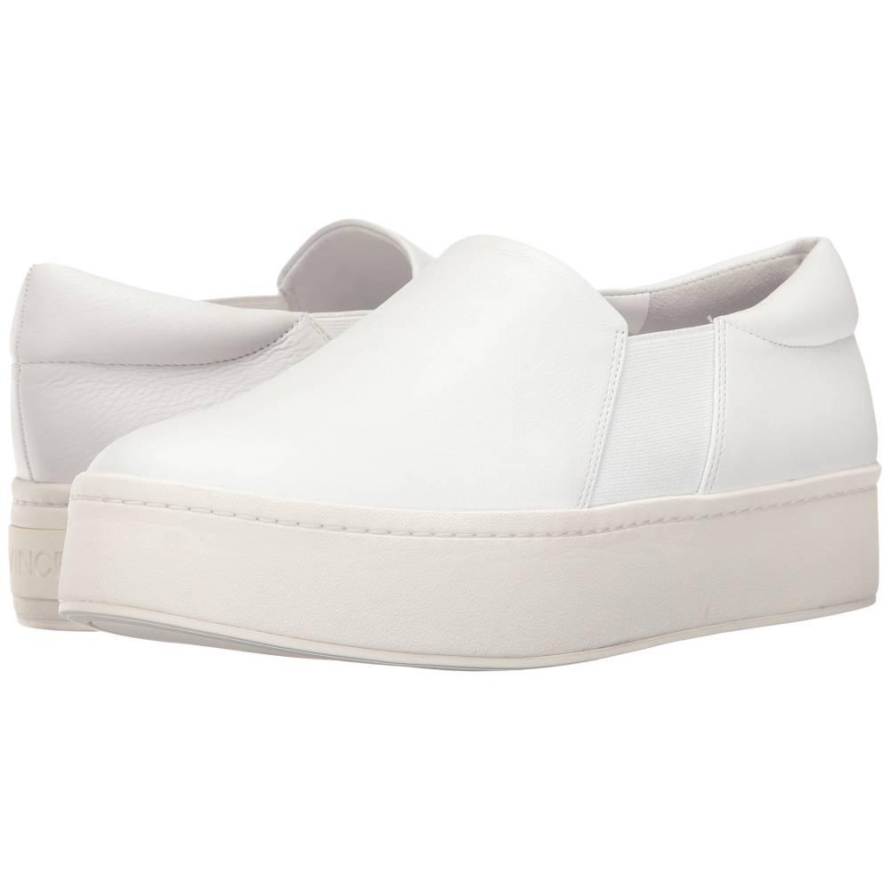 ヴィンス レディース シューズ・靴 スニーカー【Warren】White Plaster Leather