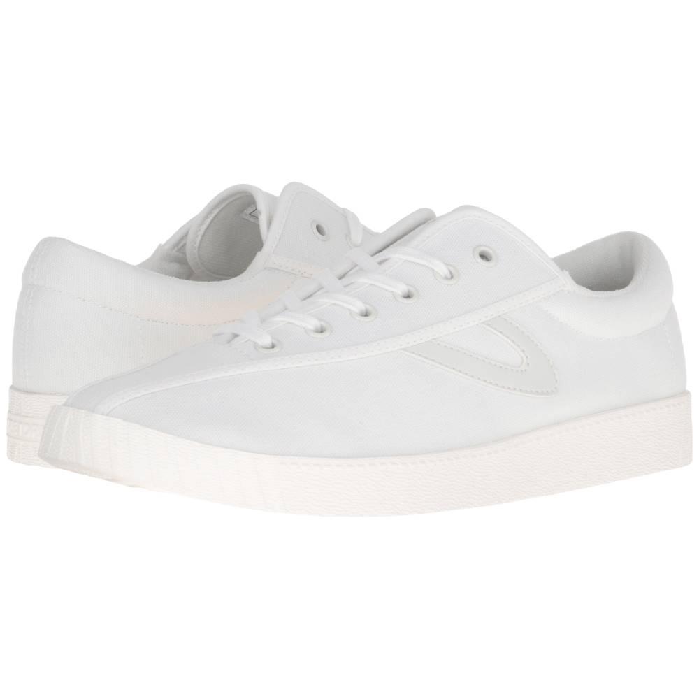 トレトン メンズ シューズ・靴 スニーカー【Nylite Plus】White/White/White