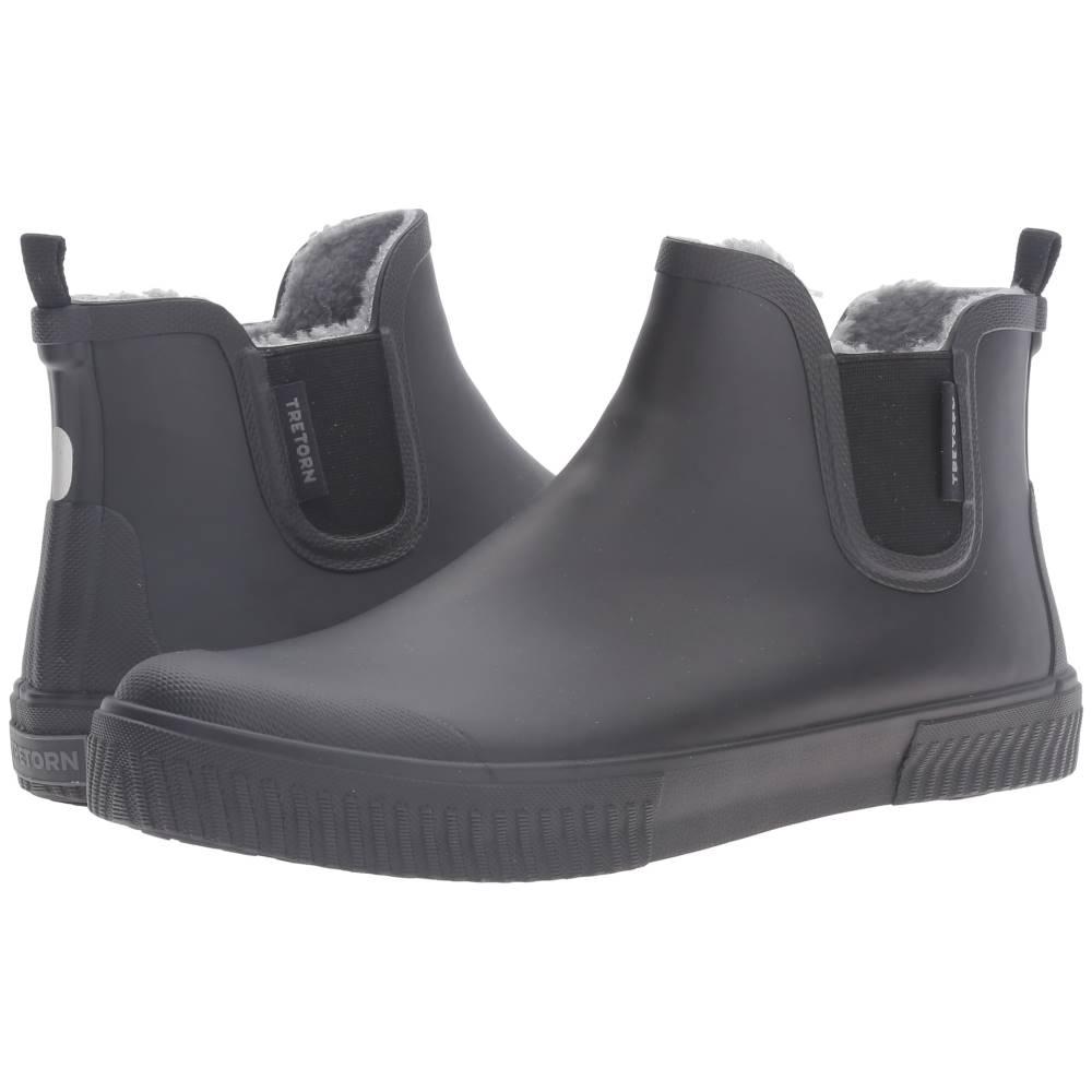 トレトン メンズ シューズ・靴 ブーツ【Guswnt】Black/Black