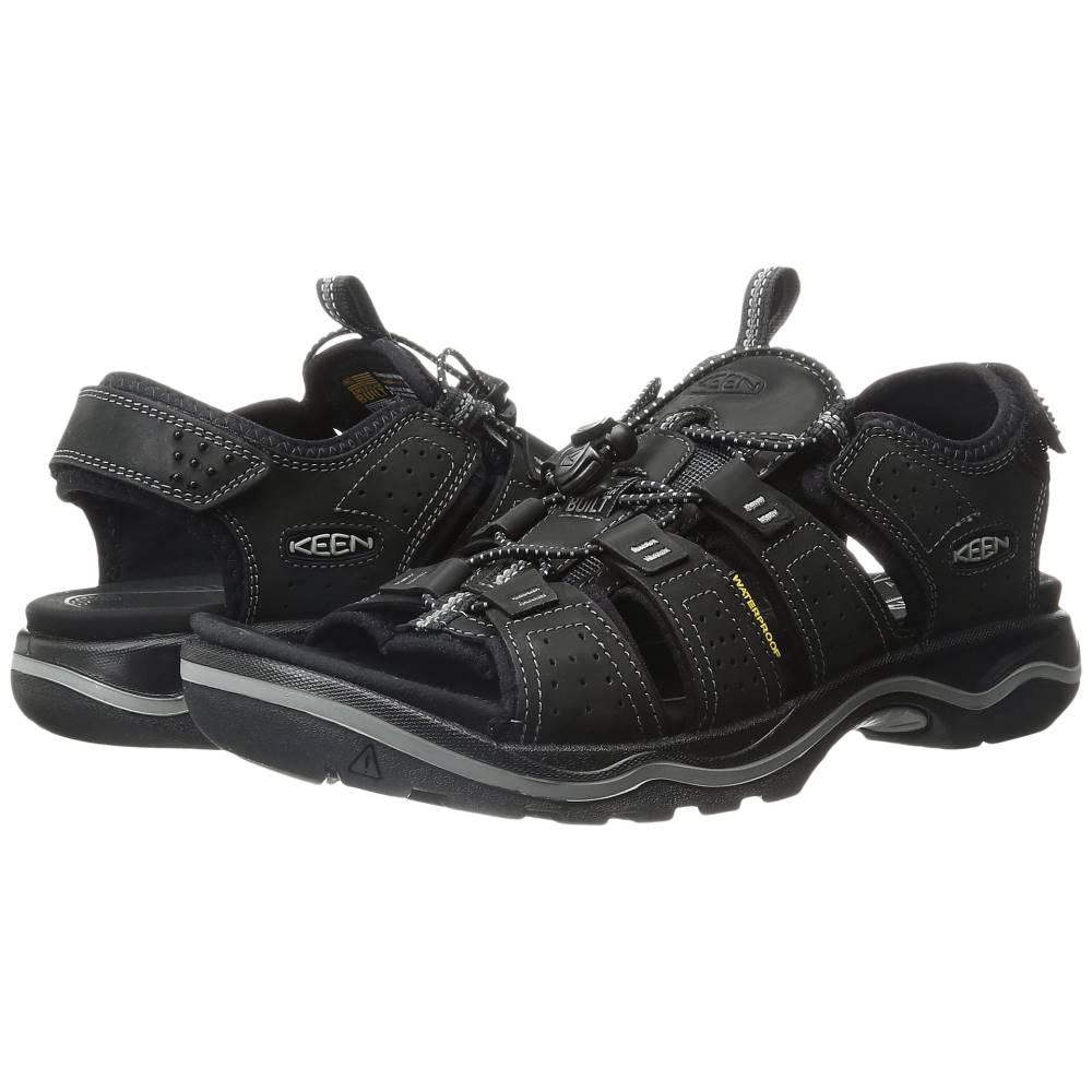 キーン メンズ ハイキング・登山 シューズ・靴【Rialto Open Toe】Black/Neutral Gray