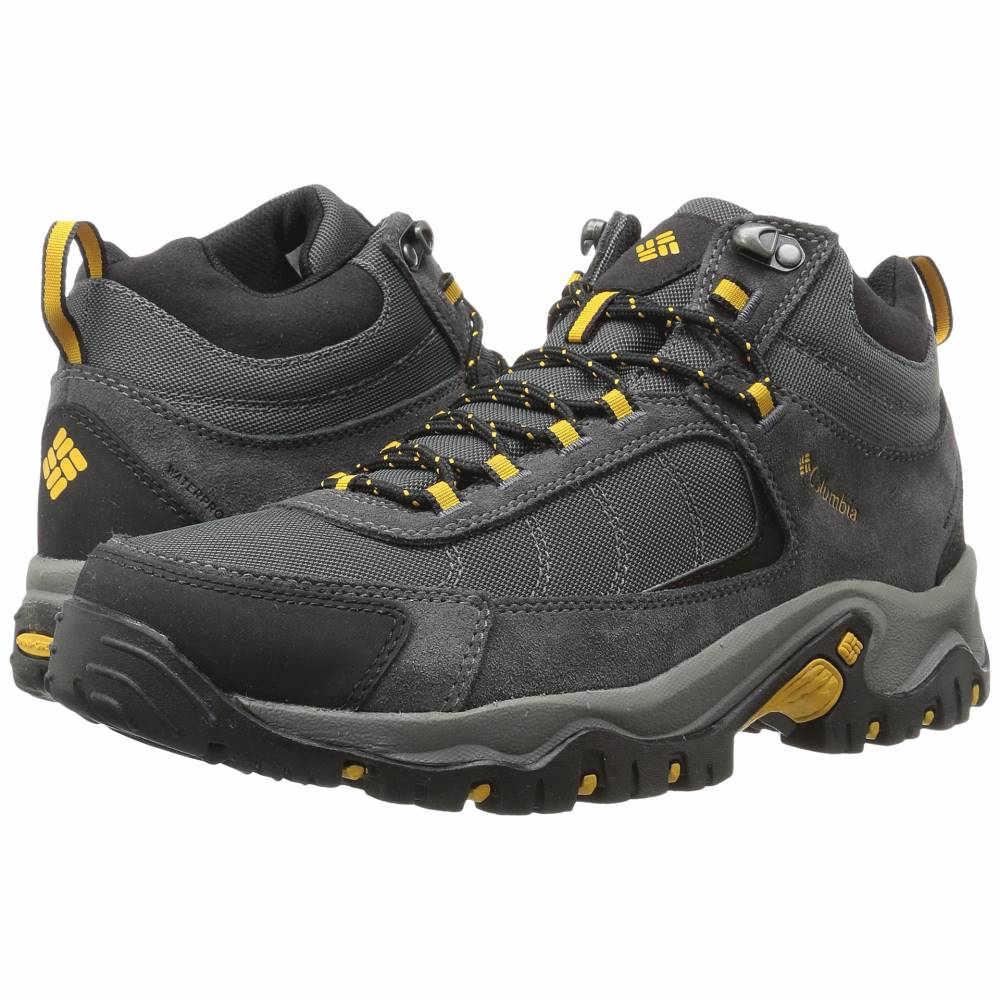 コロンビア メンズ ハイキング・登山 シューズ・靴【Granite Ridge Mid Waterproof】Dark Grey/Golden Yellow