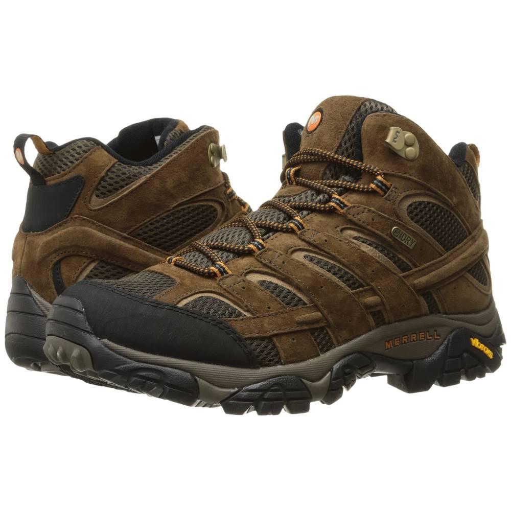 メレル メンズ ハイキング・登山 シューズ・靴【Moab 2 Mid Waterproof】Earth