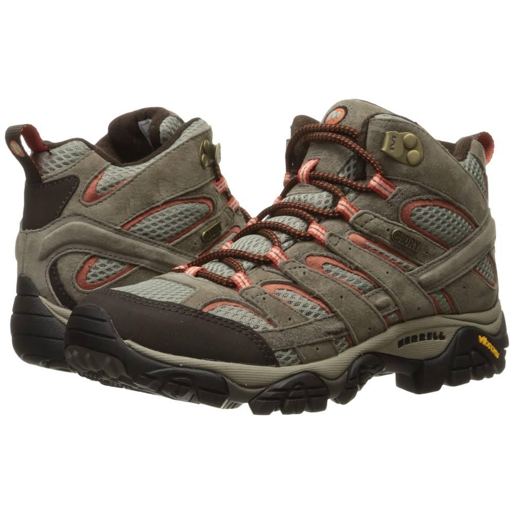 メレル レディース ハイキング・登山 シューズ・靴【Moab 2 Mid Waterproof】Bungee Cord