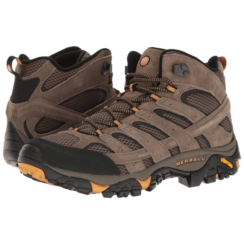 メレル メンズ ハイキング・登山 シューズ・靴【Moab 2 Vent Mid】Walnut