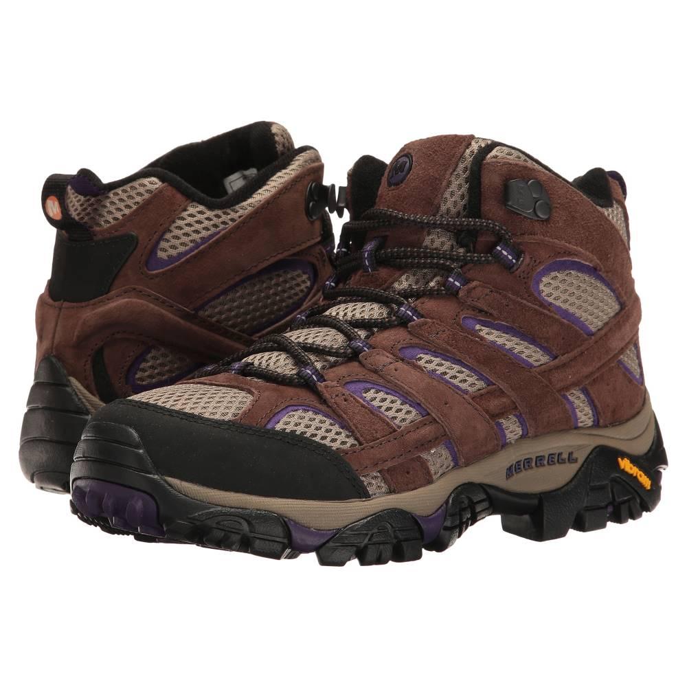 メレル レディース ハイキング・登山 シューズ・靴【Moab 2 Vent Mid】Bracken/Purple