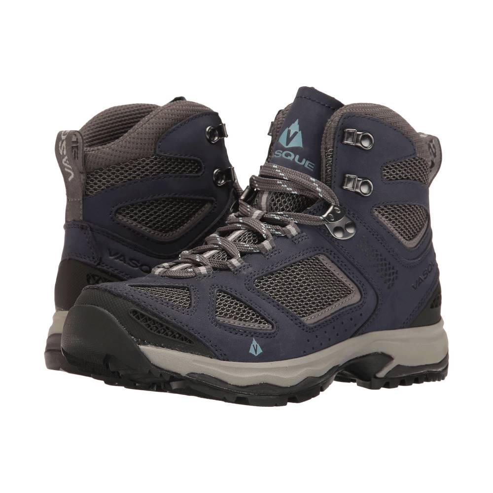 バスク レディース ハイキング・登山 シューズ・靴【Breeze III】Crown Blue/Stone Blue