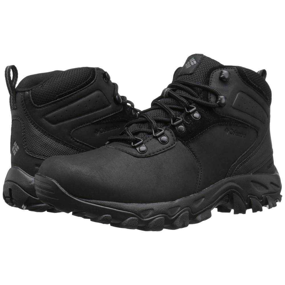 新しいスタイル コロンビア メンズ ハイキング・登山 メンズ コロンビア シューズ・靴【Newton Ridge' Plus Ridge' II Waterproof】Black/Black, オーダージュエリーディークレア:d44c2386 --- canoncity.azurewebsites.net