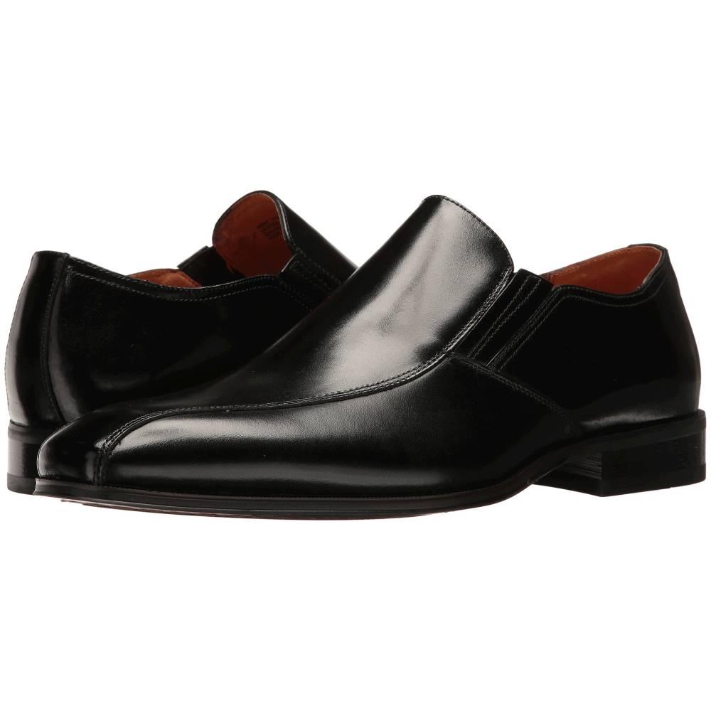 フローシャイム メンズ シューズ・靴 スリッポン・フラット【Corbetta Bike Toe Slip-On】Black Smooth