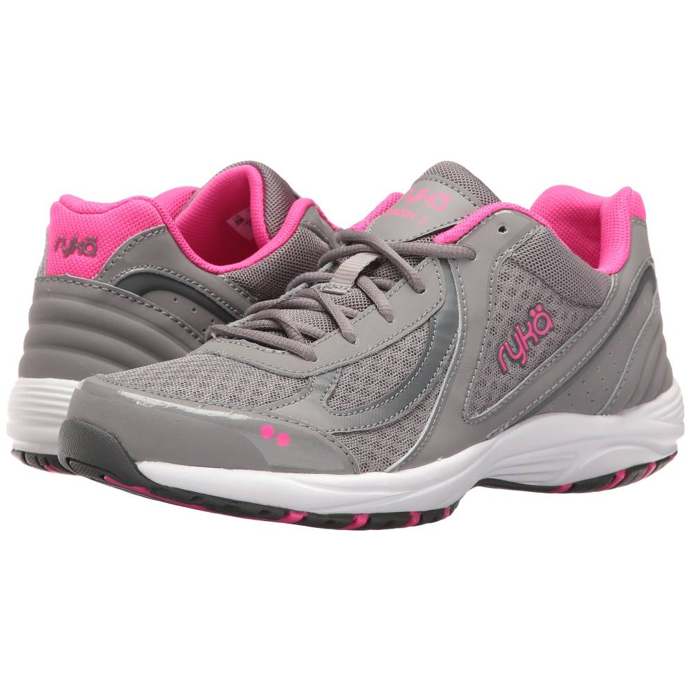 ライカ レディース シューズ・靴 スニーカー【Dash 3】Frost Grey/Steel Grey/Athena Pink/Cool Mist Grey