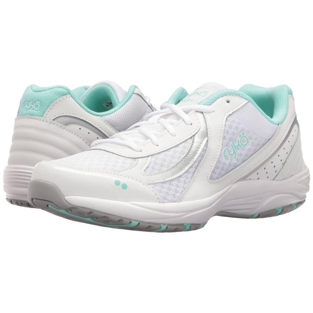 ライカ レディース シューズ・靴 スニーカー【Dash 3】White/Chrome Silver/Yucca Mint