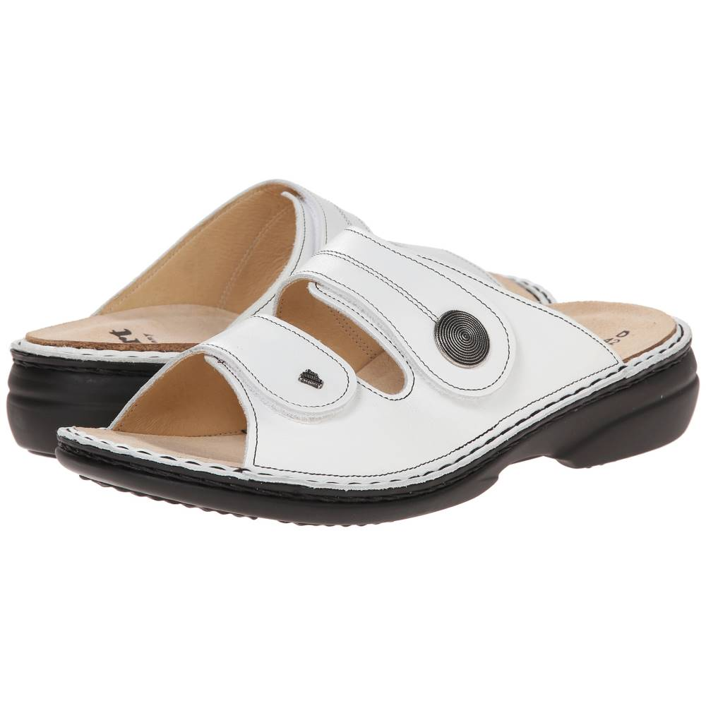 Nappa レディース シューズ・靴 フィンコンフォート - サンダル・ミュール【Sansibar 82550】White
