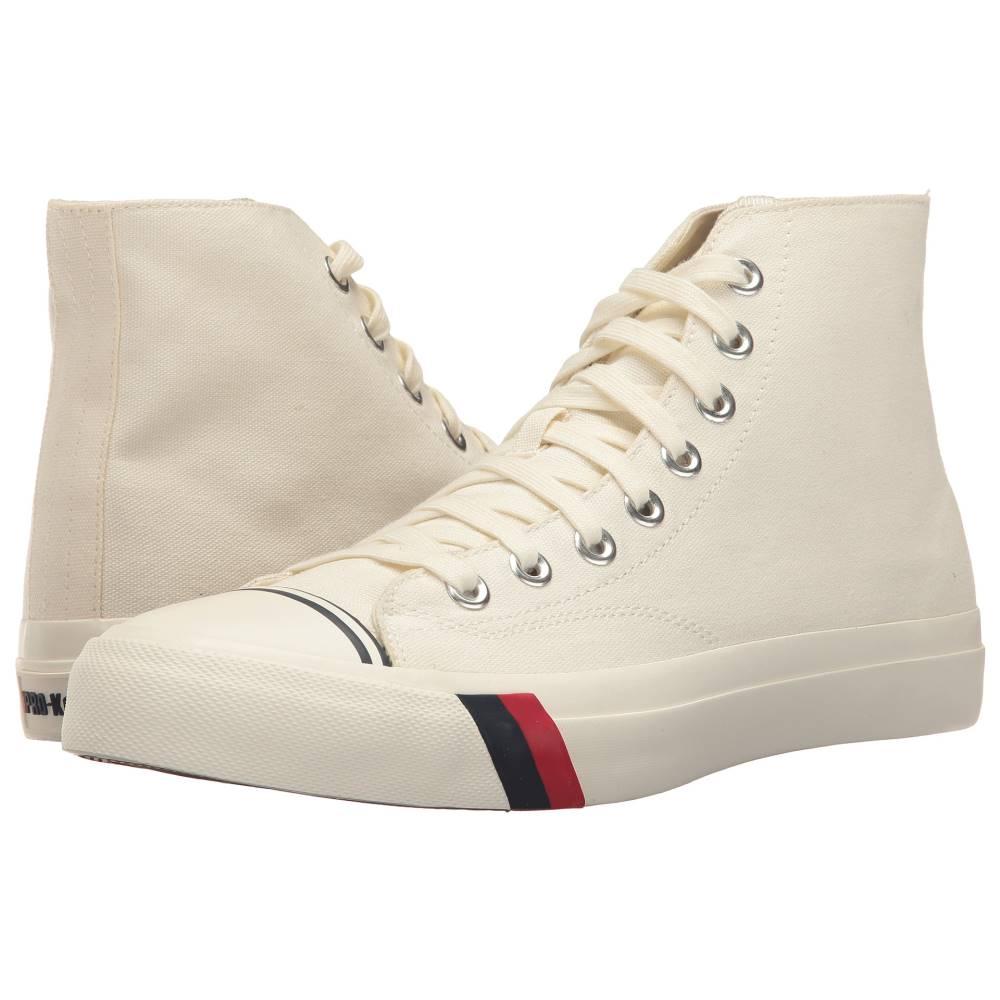 ケッズ メンズ シューズ・靴 スニーカー【Pro-Keds Royal Hi Classic Canvas】White