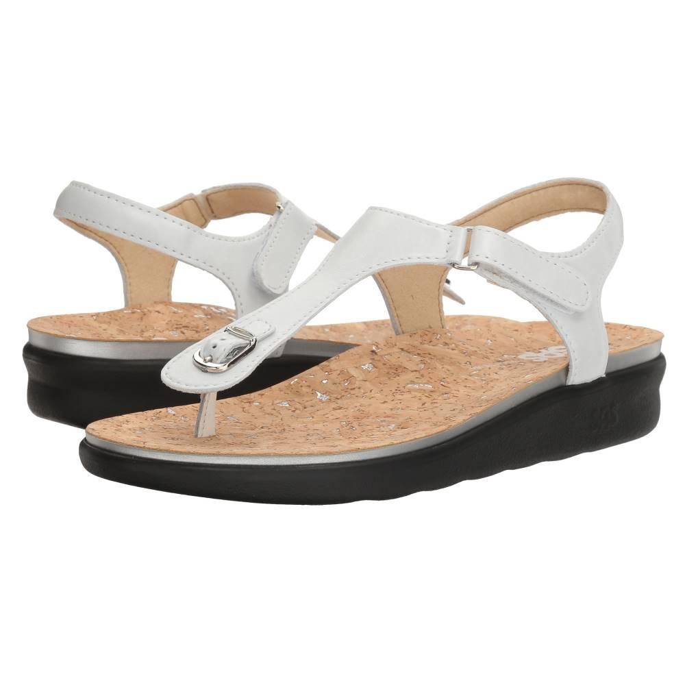 サス レディース シューズ・靴 サンダル・ミュール【Marina】Pearl White