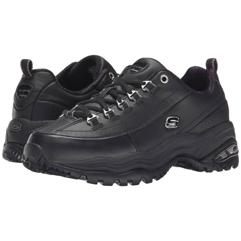 スケッチャーズ レディース シューズ・靴 スニーカー【Premiums】Black/Black Leather