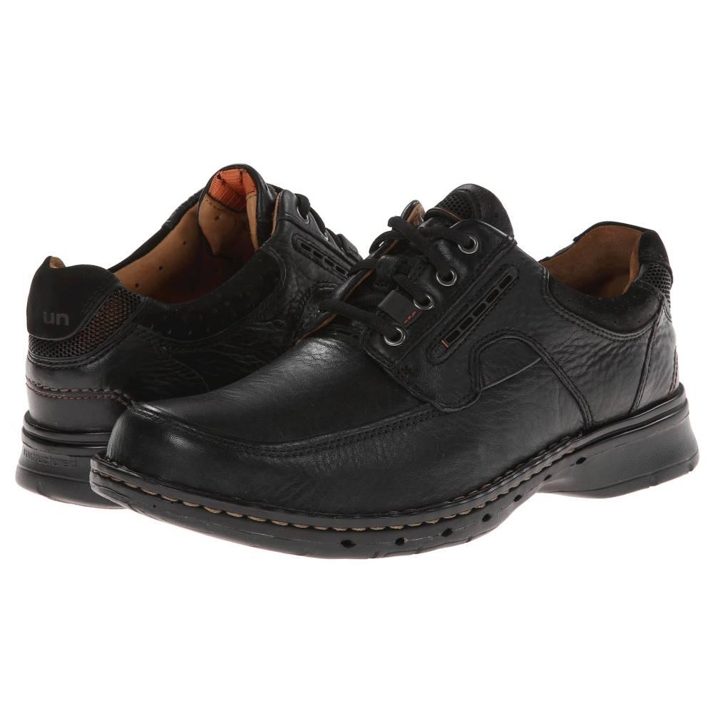 クラークス メンズ シューズ・靴 革靴・ビジネスシューズ【Un.bend】Black Leather