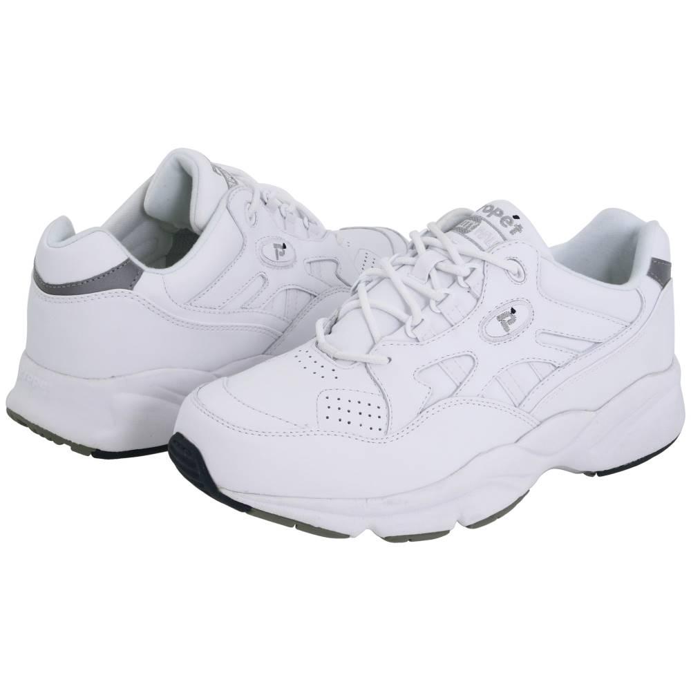 プロペット メンズ シューズ・靴 スニーカー【Stability Walker Medicare/HCPCS Code = A5500 Diabetic Shoe】White Leather