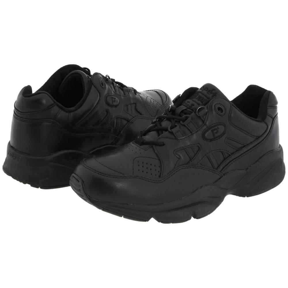 プロペット メンズ シューズ・靴 スニーカー【Stability Walker Medicare/HCPCS Code = A5500 Diabetic Shoe】Black Leather