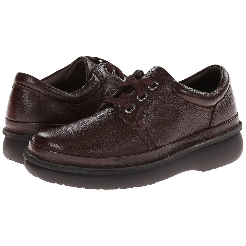 プロペット メンズ シューズ・靴 革靴・ビジネスシューズ【Village Walker Medicare/HCPCS Code = A5500 Diabetic Shoe】Brown Grain