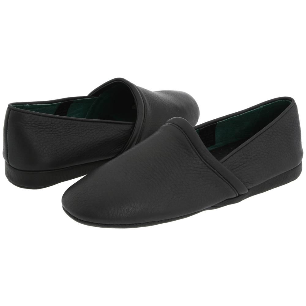 エルビー エバンス メンズ シューズ・靴 スリッパ【Aristocrat Opera】Black Leather
