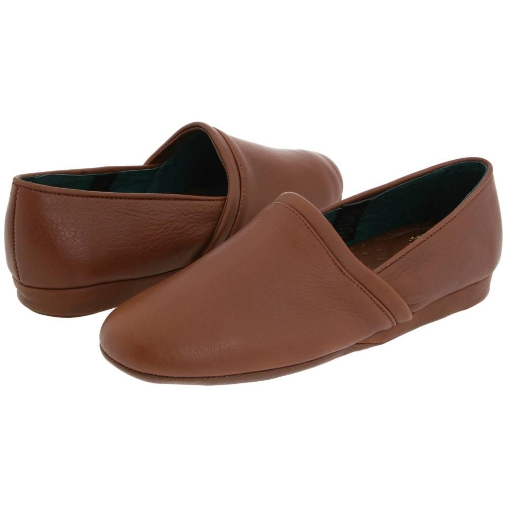 エルビー エバンス メンズ シューズ・靴 スリッパ【Aristocrat Opera】Brown Leather