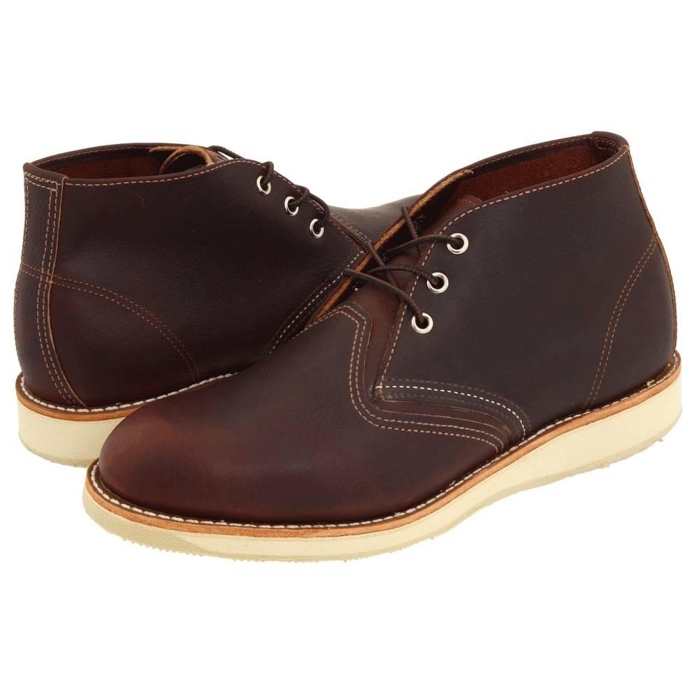 レッドウィング メンズ シューズ・靴 ブーツ【Work Chukka】Briar Oil Slick