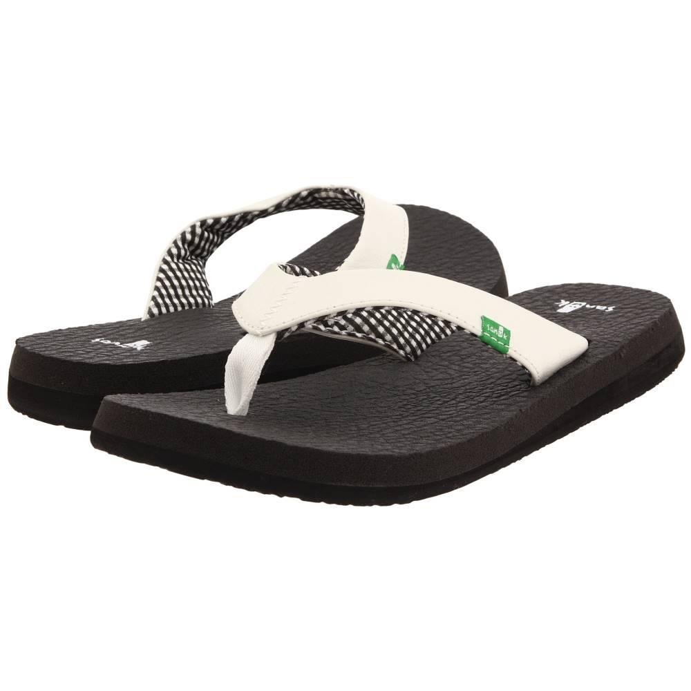 サヌーク レディース シューズ・靴 サンダル・ミュール【Yoga Mat】White